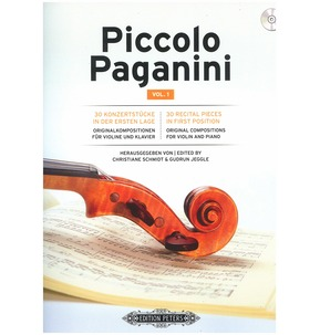 Piccolo Paganini: Volume 1 (CD Included)