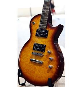 ESP LTD EC-100QM FCSB Faded Cherry Sunburst Guitar