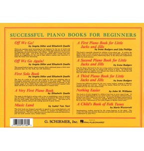 A First Piano Book For Little Jacks And Jills