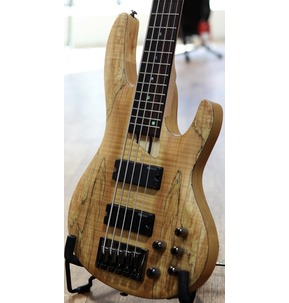 ESP LTD B-205SM NS Natural Satin 5-String Bass Guitar