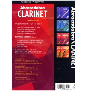 Abracadabra Clarinet - Third Edition (Book)