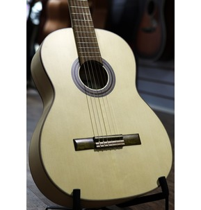 Hokada Gold Classical Guitar, Solid Front, Maple Back