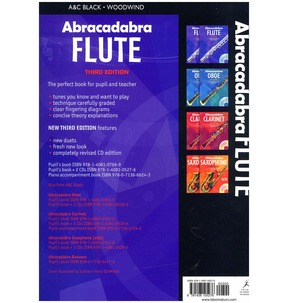 Abracadabra Flute (Third Edition, Including CD)