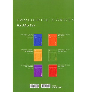 Favourite Carols For Alto Saxophone