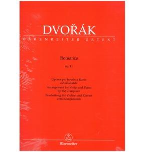 Dvorak: Romance Op. 11 for Violin & Piano (Barenreiter Edition)