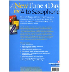 A New Tune A Day: Alto Saxophone - Book 1 (CD Edition)