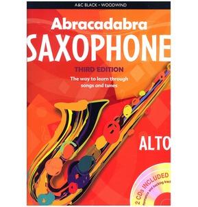 Abracadabra Saxophone - Third Edition (Book/2 CDs)