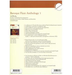 Baroque Flute Anthology Book 1 - 36 Works (Schott Edition)