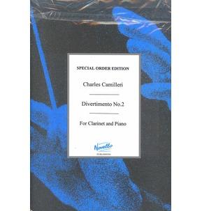 Camilleri: Divertimento No.2 for Clarinet and Piano
