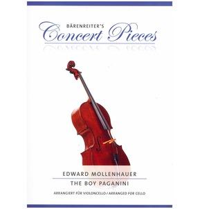 Barenreiter's Concert Pieces: The Boy Paganini for Cello & Piano
