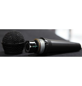 Shure PGA58 Dynamic Microphone Including Mic Stand and XLR Cable