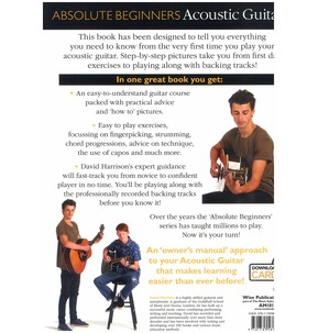 Absolute Beginners Acoustic Guitar (Book/ Audio Download)