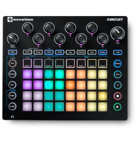 Novation Circuit Grid-Based Groove Box Synth