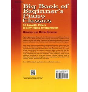 Big Book Of Beginner's Piano Classics