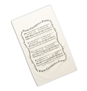 'Food, Glorious Food' Tea Towel