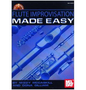 Mel Bay: Flute Improvisation Made Easy Including CD