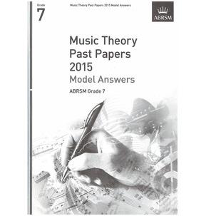 ABRSM Theory Of Music Exam Model Answers 2015: Grade 7