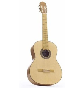 Hokada Gold Classical Guitar Solid Front Cherry Back