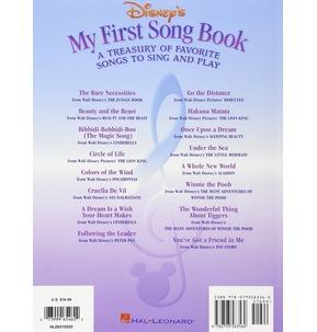 Disney's My First Songbook Volume 1