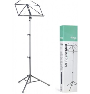 Stagg Deluxe MUSA4 Black Music Stand
