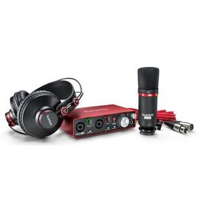 Focusrite Scarlett 2i2 Studio (2nd Gen) USB Audio Interface Package