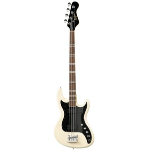 Hofner HCT 185 Bass Guitar - Long Scale - White