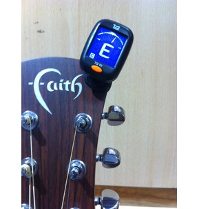 TGI Chromatic Clip On Tuner - Black