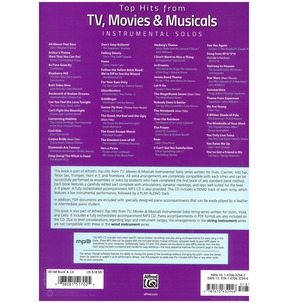 Top Hits from TV, Movies & Musicals Instrumental Solos (Clarinet)