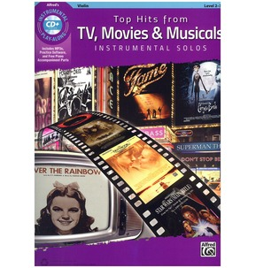 Top Hits from TV, Movies & Musicals Instrumental Solos (Violin)