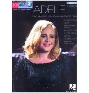 Pro Vocal Women's Edition Volume 56: Adele (Book/Online Audio)