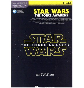 Instrumental Play-Along: Star Wars- The Force Awakens (Flute)(Book/Online Audio)