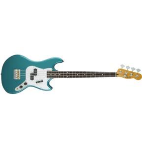 Fender Squier Gary Jarman Signature Bass, Rosewood, Ocean Turquoise