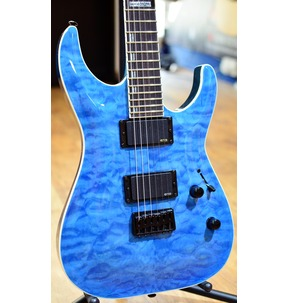 ESP LTD H-401QM FSB Faded Sky Blue Guitar