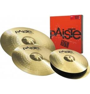 Paiste 101 Cymbal Set. 14 Inch Hi-Hats,16 Inch Crash, 20 Inch Ride