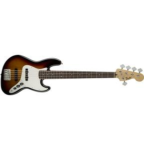 Fender Standard Jazz Bass V (Five String), Rosewood, Brown Sunburst