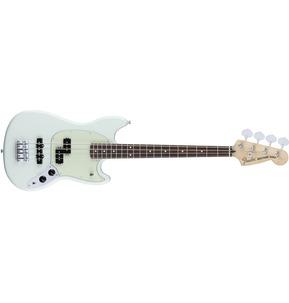 Fender Mustang Bass PJ, Rosewood, Sonic Blue