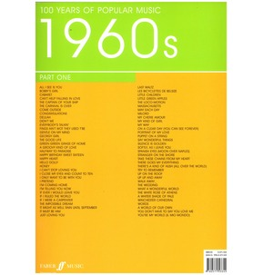100 Years Of Popular Music 1960s Volume 1 (Piano/Voice/Guitar)