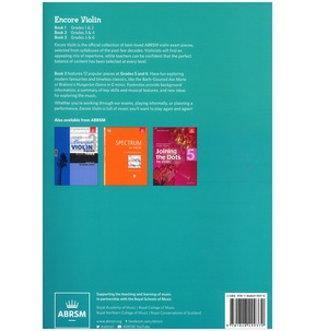 ABRSM: Encore - Violin: Book 3, Grades 5 & 6