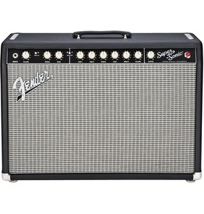 Fender Super-Sonic 22 Combo Black And Silver Guitar Amplifier
