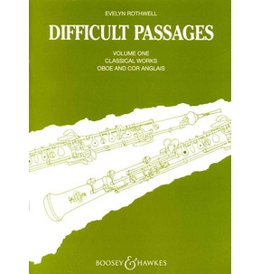 Difficult Passages For Oboe 1