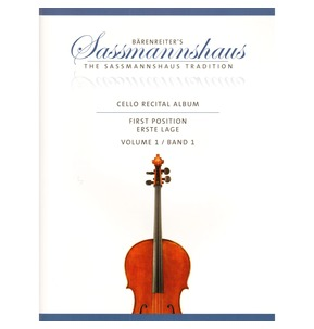 Sassmannshaus Cello Recital Album: Volume 1