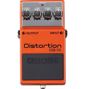 Boss DS-1X Distortion Special Edition Guitar Effects Pedal B-Stock