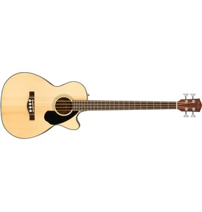 Fender CB-60SCE, Natural, Rosewood Electro Acoustic Bass Guitar