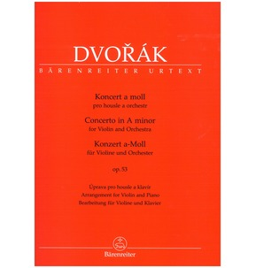 Dvorak Concerto in A Minor Op.53 - Violin & Orchestra