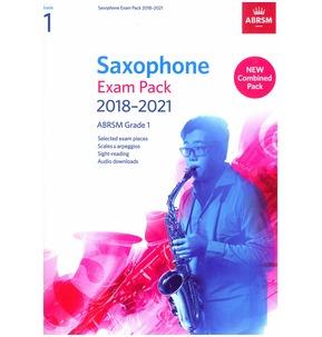 Saxophone Exam Pack 2018-2021, ABRSM Grade 1