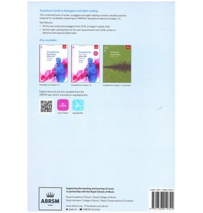 Saxophone Scales & Arpeggios and Sight-Reading, ABRSM Grades 1-5