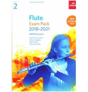 Flute Exam Pack 2018?2021, ABRSM Grade 2