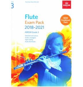 Flute Exam Pack 2018?2021, ABRSM Grade 3