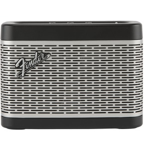 Fender Newport Bluetooth Speaker, Black And Silver
