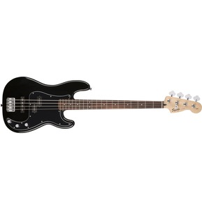 Fender Squier Affinity Series Precision Bass PJ Pack, Black, Rosewood